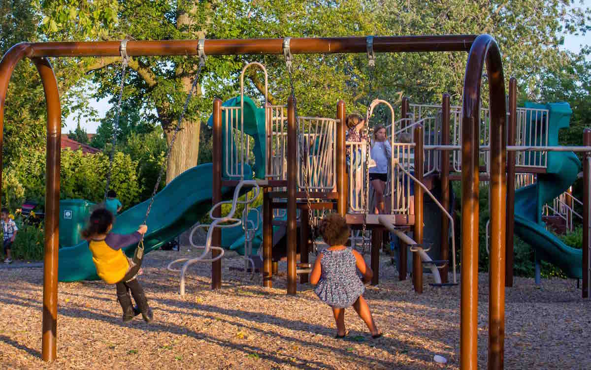 Playground at Front Park
